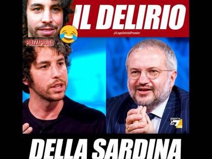 """""""Puzza di c... in strada"""": il delirio di Santori. Borghi lo gela"""