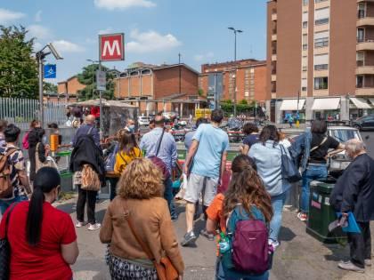 """Linate """"viaggia"""" al 30% M4 apre solo per finta"""