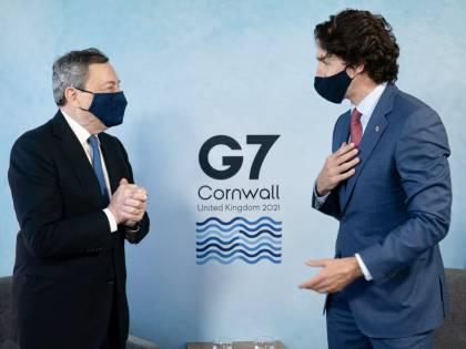 Draghi ringrazia Trudeau: scuse per l'oscuro segreto degli italiani in Canada