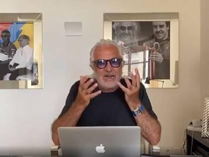 """Briatore sbotta in tv: """"Danno 600 euro..."""". Asfalta Conte&Co."""