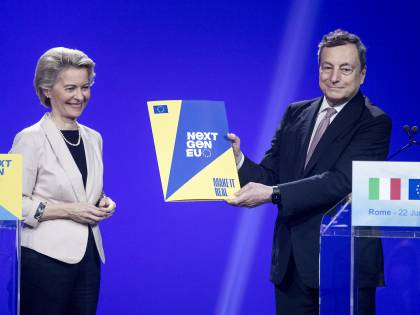 Recovery, garantisce Draghi: sarò io a fare la differenza