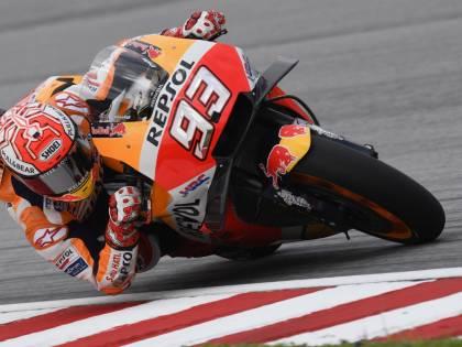 Motogp, Malesia: Marquez penalizzato. La pole position va a Zarco