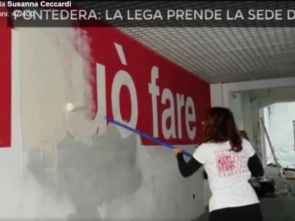 Pontedera, Lega si prende la sede storica del Pd