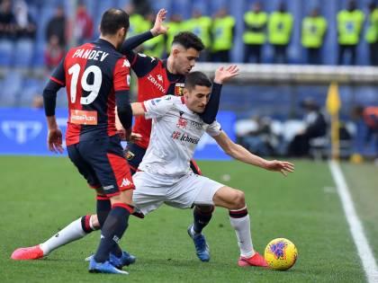Serie A, il Lecce batte 2-1 la Spal. Il Genoa vince 3-0 a Bologna