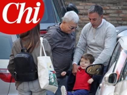 Nichi Vendola insieme al figlio a pochi giorni dall'infarto