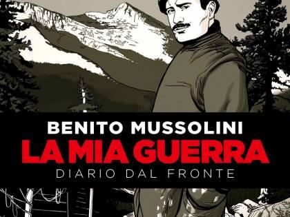 Il diario di Benito Mussolini diventa fumetto