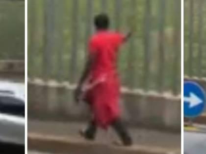 Mantova, nigeriano con ascia devasta vetrine e ferisce un passante