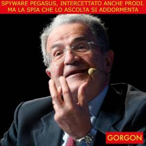 Ecco la satira del giorno. Spiato anche Romano Prodi
