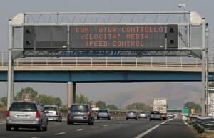 Orari, sanzioni e regole: attenti ai tutor in autostrada