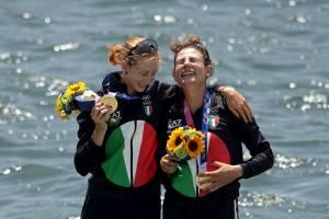 Il secondo oro olimpico dell'Italia arriva dal canottaggio