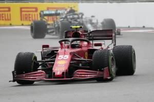 Norris, Sainz, Russell. Pole dalla Formula futuro
