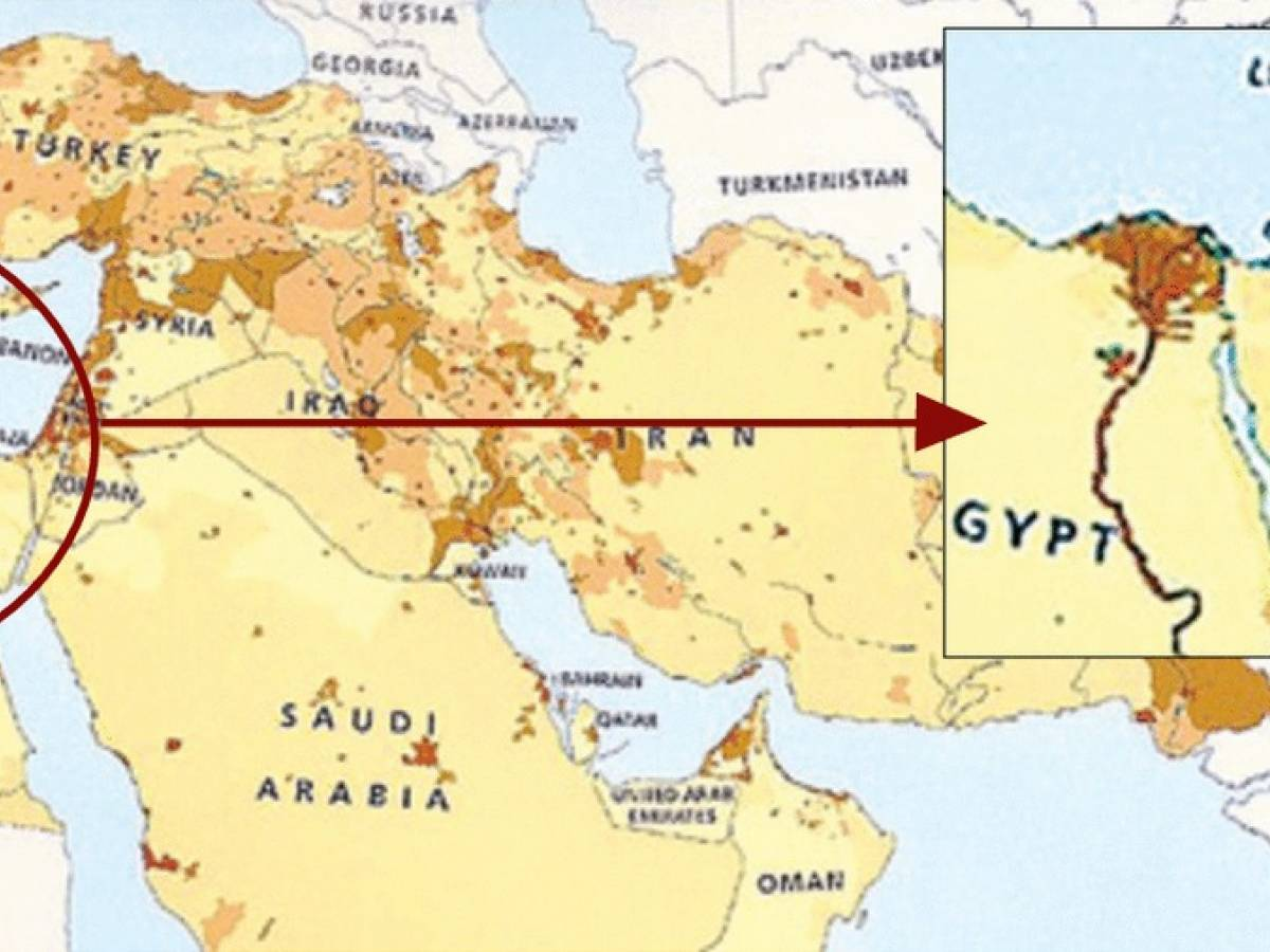 Medio Oriente Cartina Fisica.Scandalo Negli Usa Esce Un Atlante Senza Israele Ilgiornale It