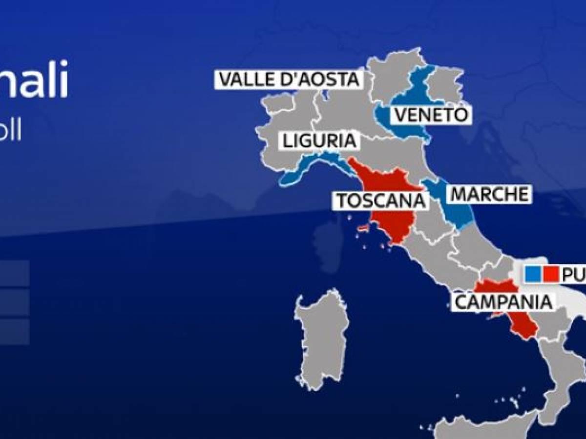 Regione Calabria Cartina Politica.Ecco La Nuova Mappa D Italia Il Centrodestra Governa In 15 Regioni Ilgiornale It