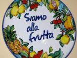 Ritratto di alla frutta