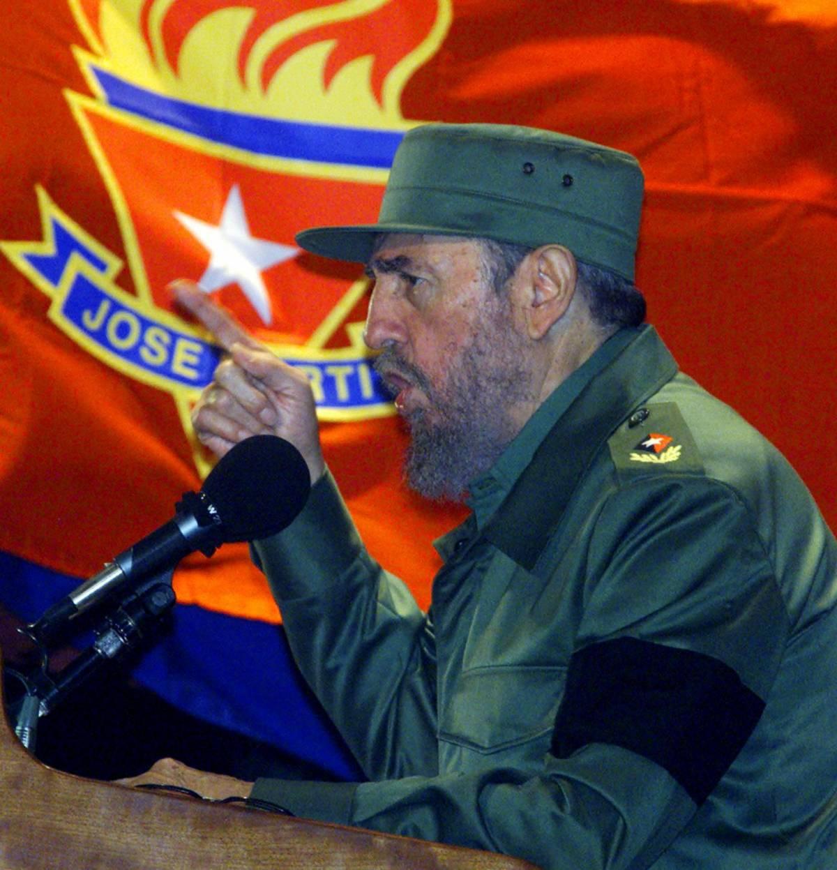 La sinistra ostaggio di Fidel