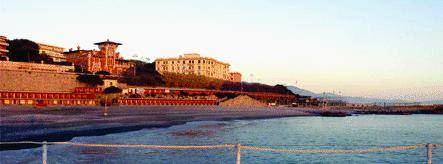 Aumento record sulle spiagge della città