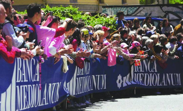 I clienti Mediolanum al «Giro»
