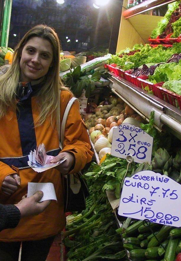 Al supermercato si compra in lire