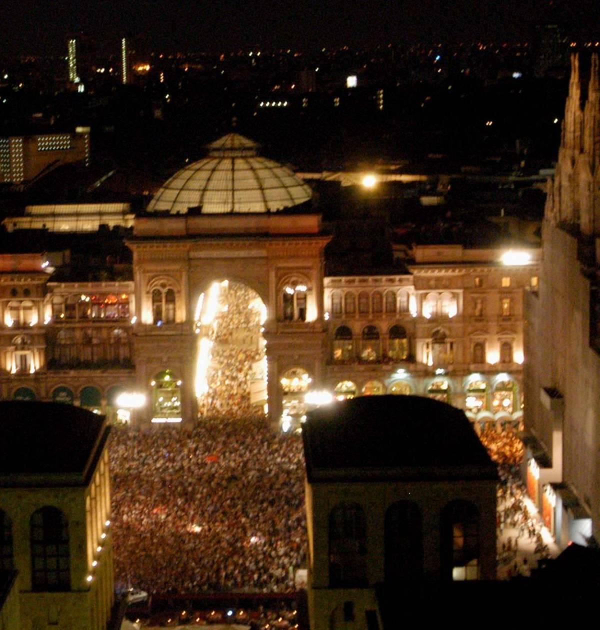 Notte bianca: un milione in festa