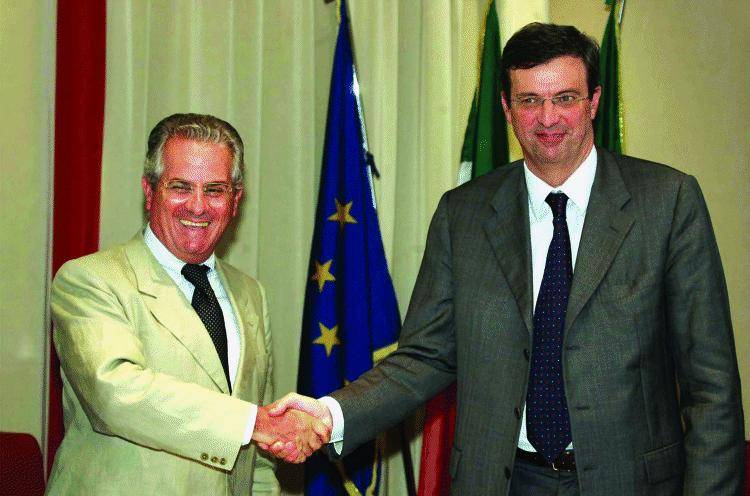 Scajola ricostruisce la Liguria con Burlando