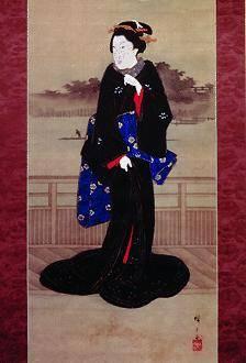 Una geisha bella come la natura