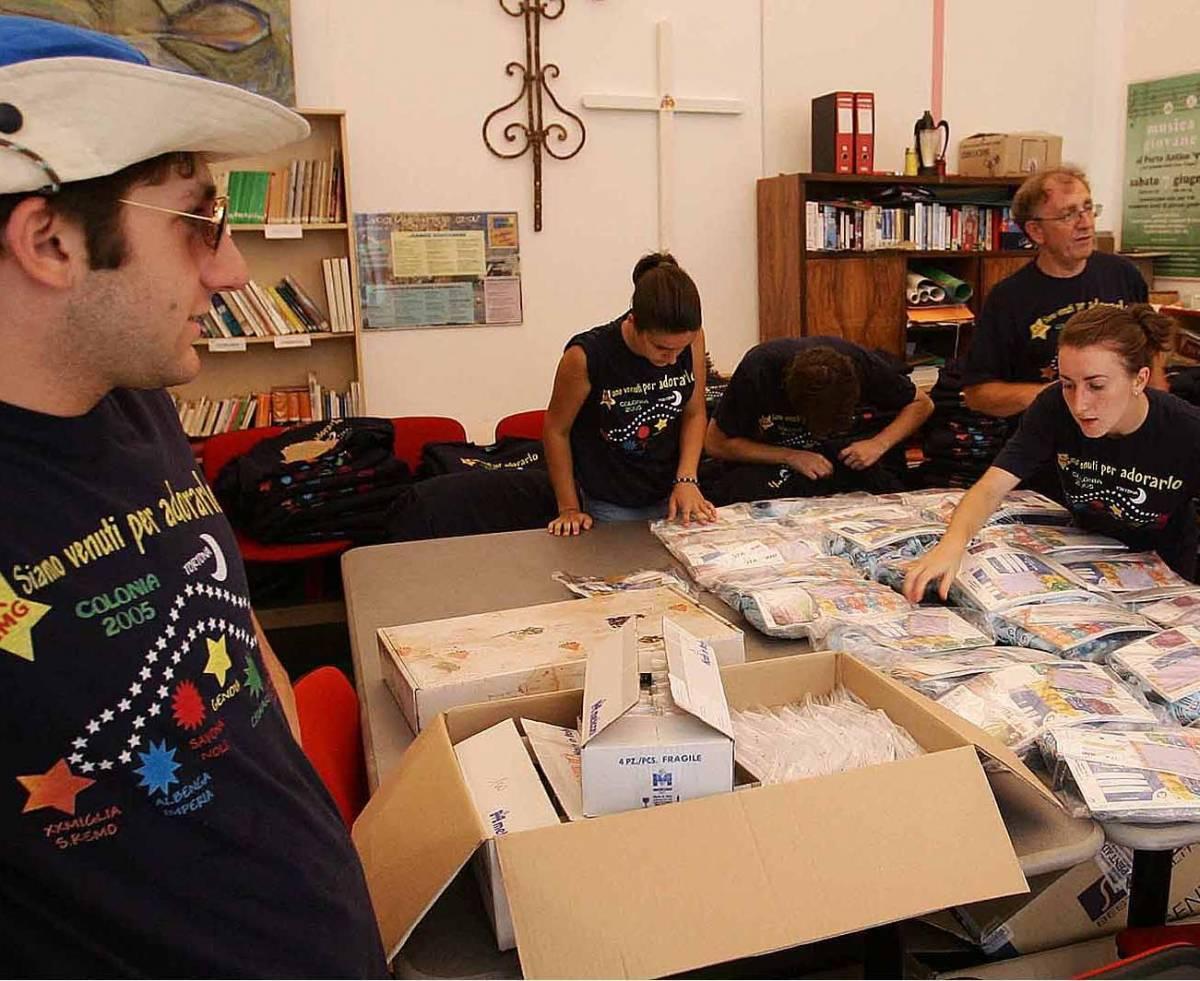 La carica dei 1600 papa boys a Colonia