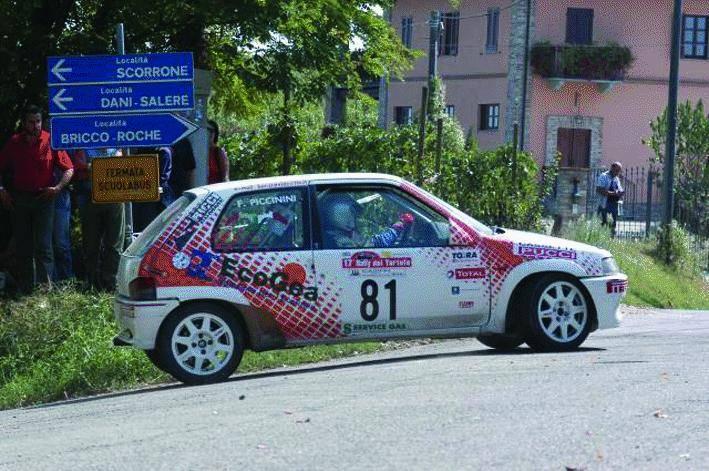 Rally a Celle, Craviotto sogna la fuga
