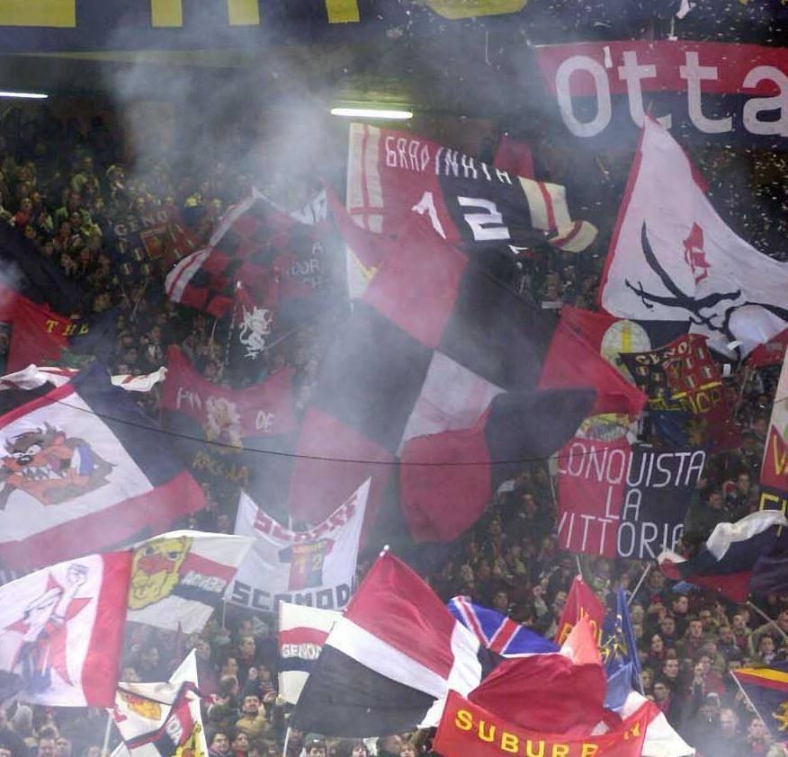 Incontri separati per i club, la Nord sosterrà solo il Genoa