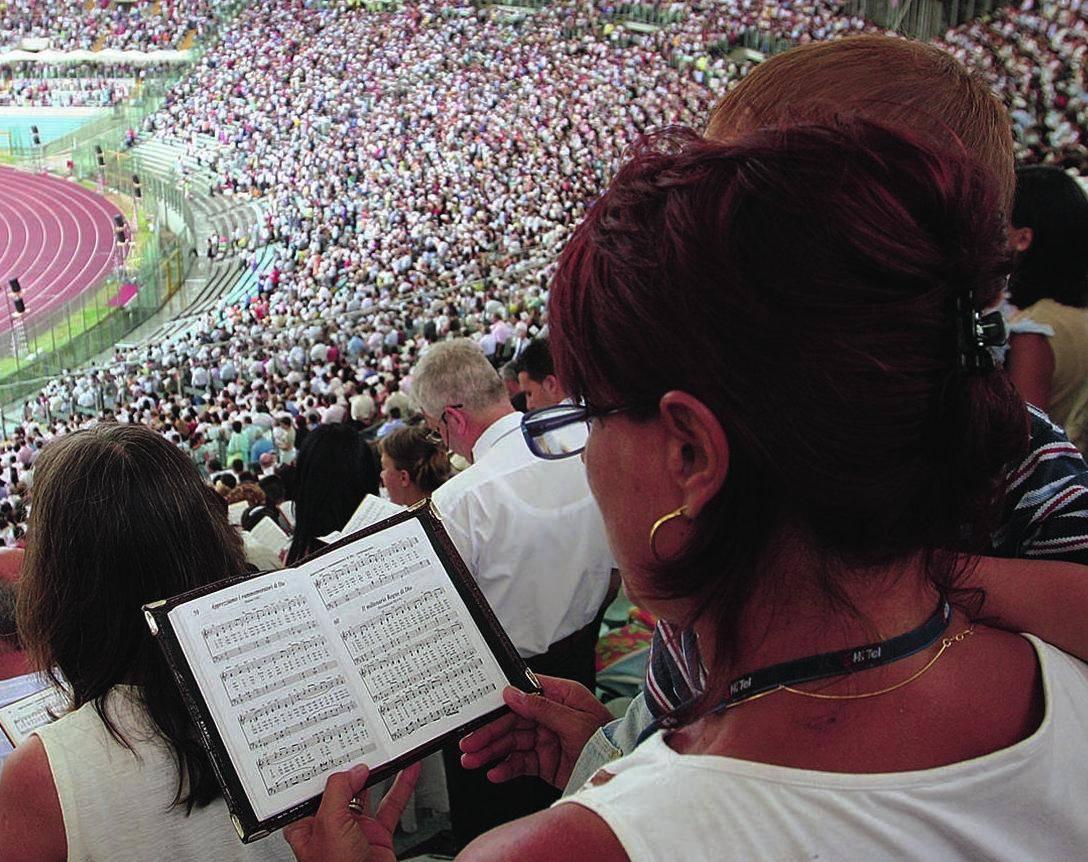 L'Olimpico da Madonna ai Testimoni di Geova