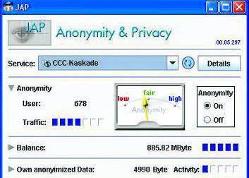 Navigazione anonima con i web proxy