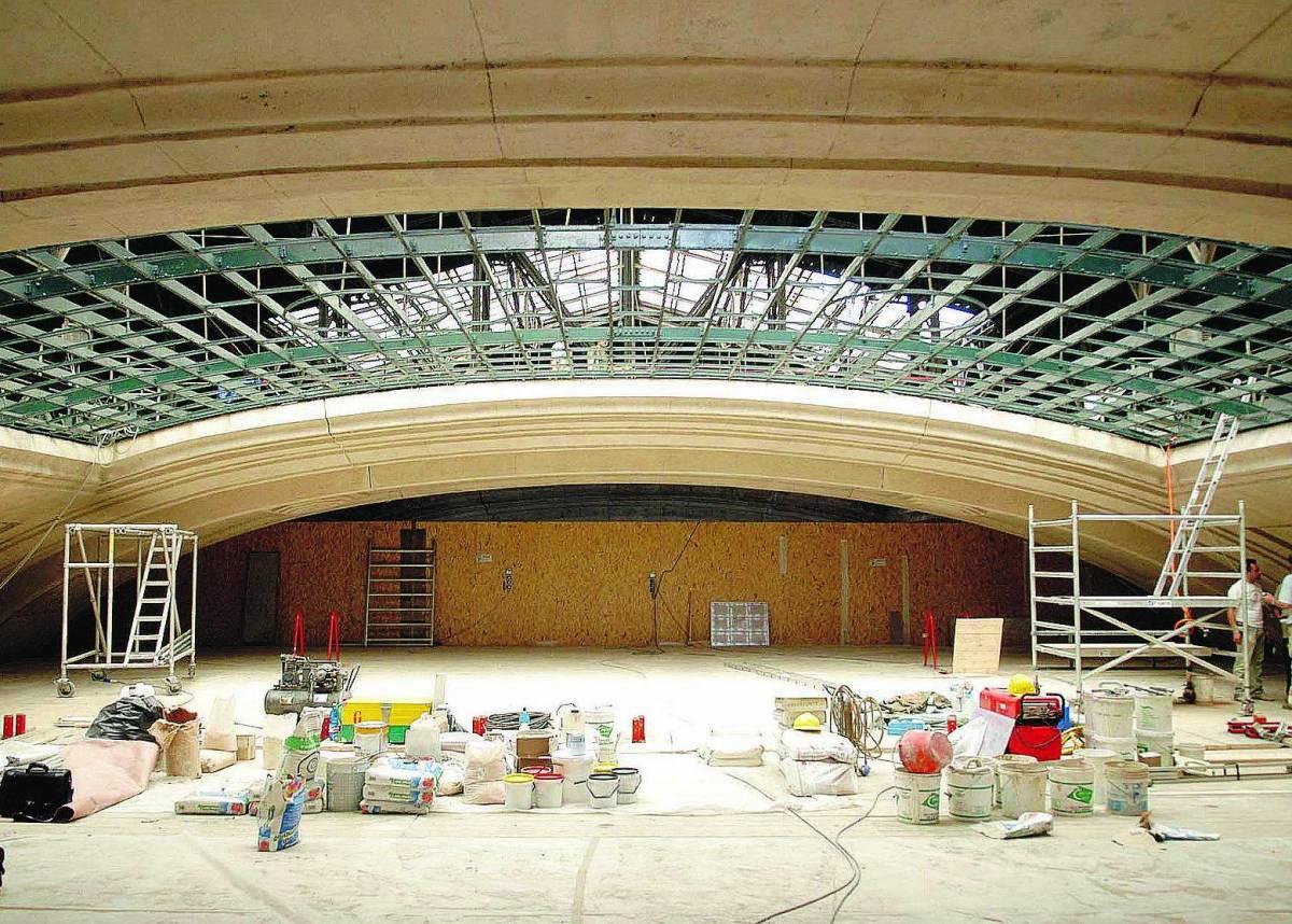 Centrale, restauro per vetrate e padiglioni