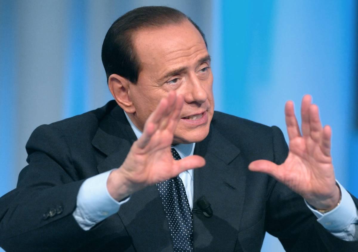 """Berlusconi: """"Follini senza moralità.  Legge elettorale, falso problema"""""""