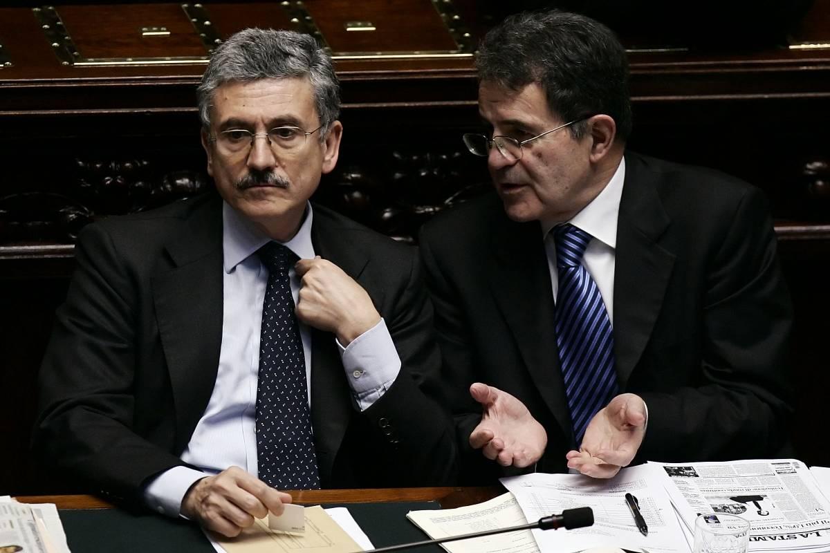 Strappata la fiducia Prodi  e D'Alema rivogliono i Dico
