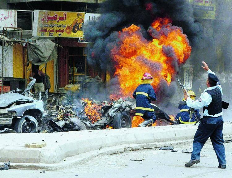 Ecco la tv dell'orrore che manda in onda solo le stragi in Irak