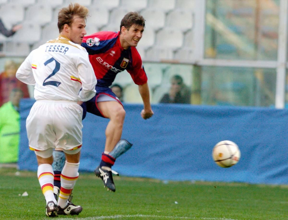 Il Genoa prova a non vincere ma si salva in nome De Rosa