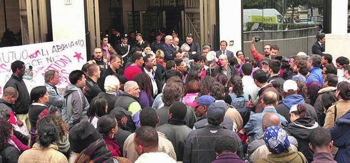Action «okkupa» Bankitalia