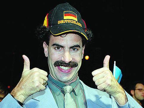 Con Borat si ride molto cadendo molto in basso