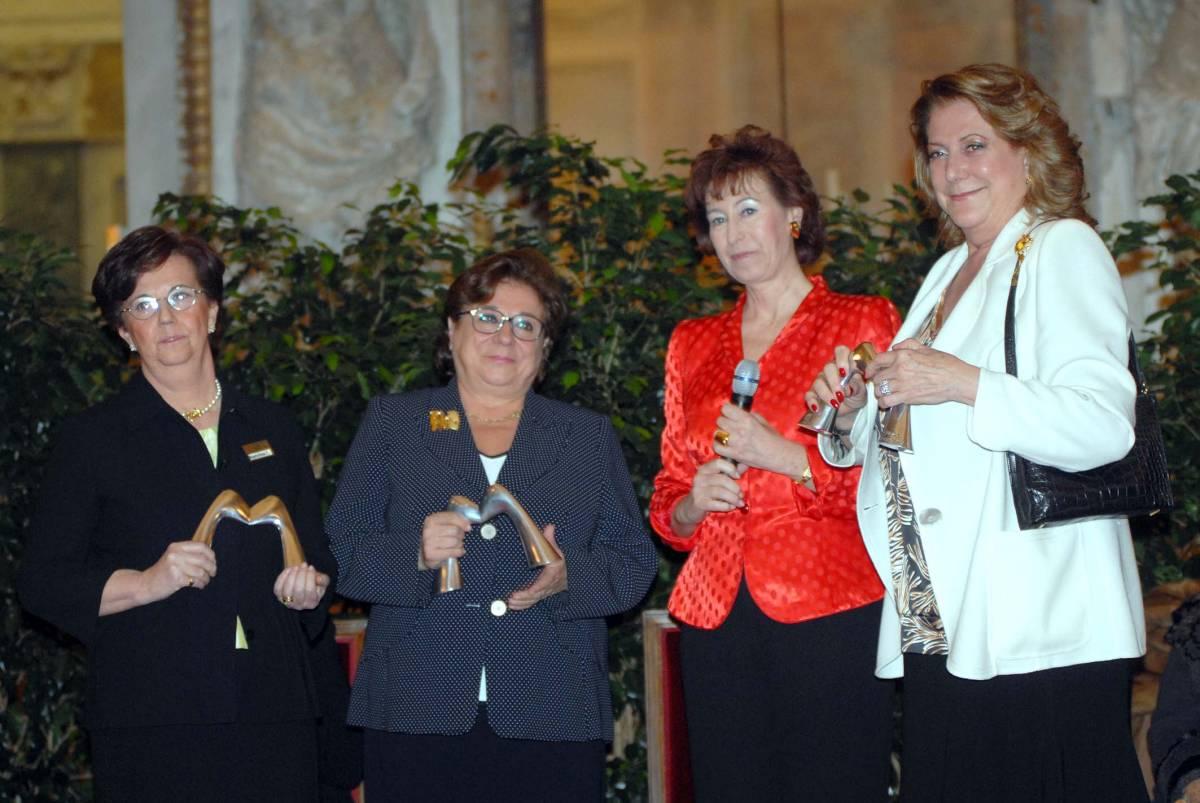 La Moratti premia le donne che hanno reso grande Milano