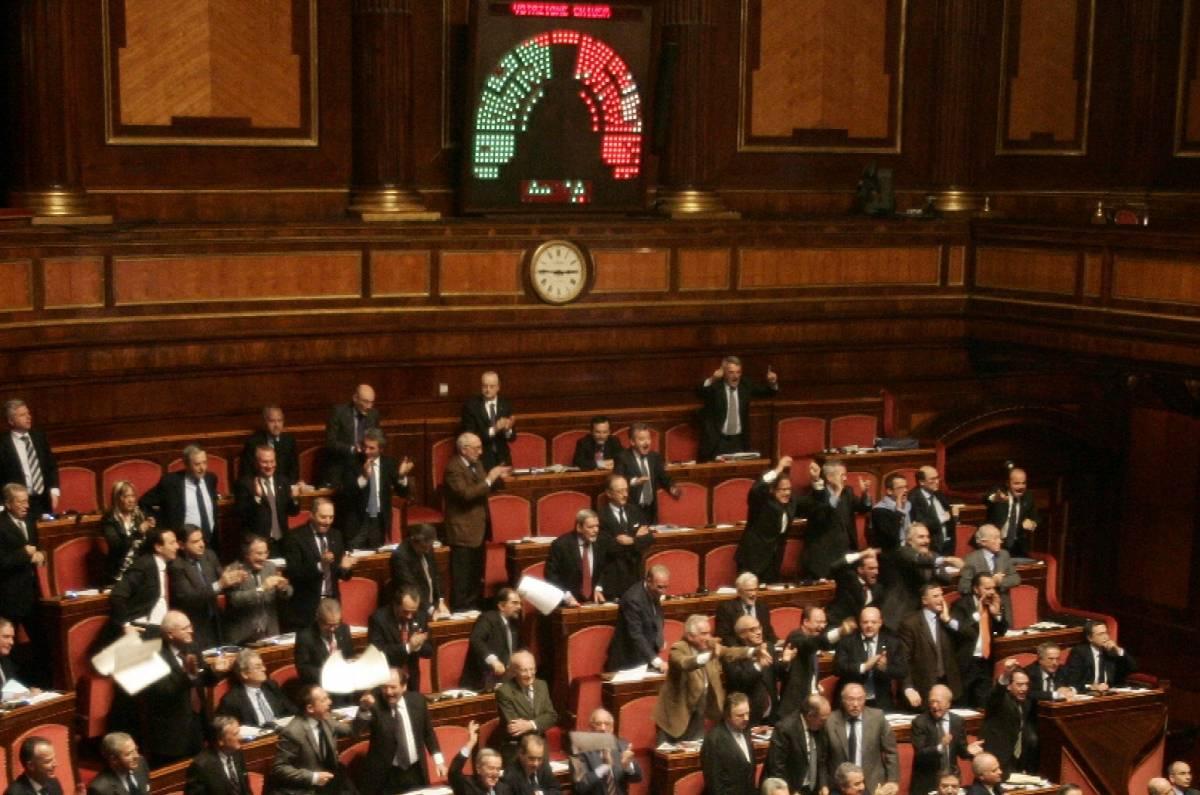 La Cdl: il nostro sì alla Camera non salverà l'Unione al Senato