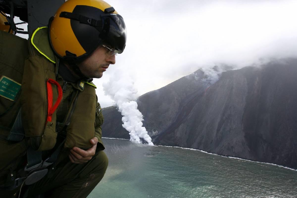 Nuovo allarme a Stromboli  L'eruzione accelera
