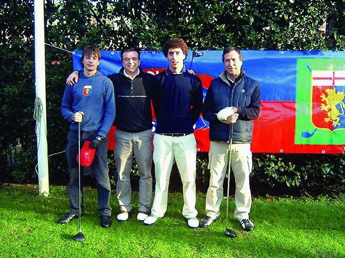 A Rapallo i golfisti col Grifone nel cuore