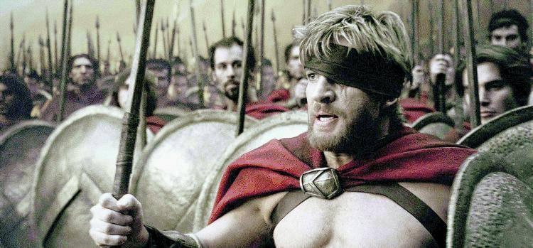 Le Termopili come la guerra in Irak: America in fila per il film su Leonida