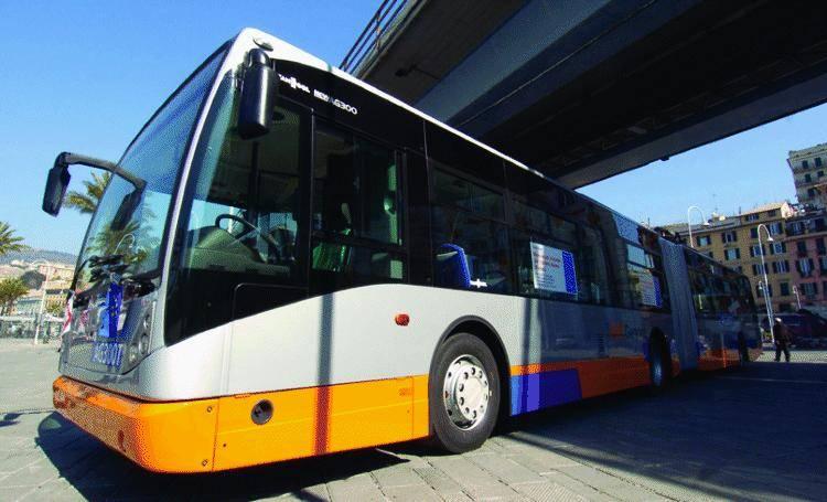 Ecco il primo filobus da 18 metri