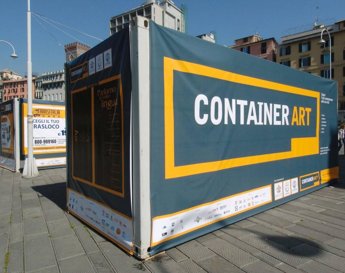Dentro il container si nasconde l'arte