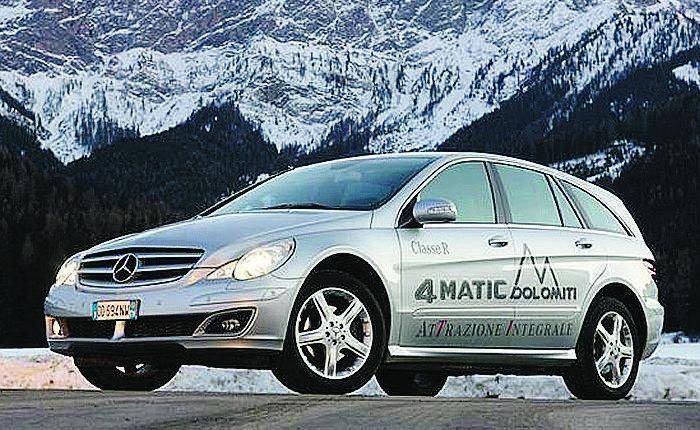 Mercedes, 48 i modelli dotati di trazione 4x4