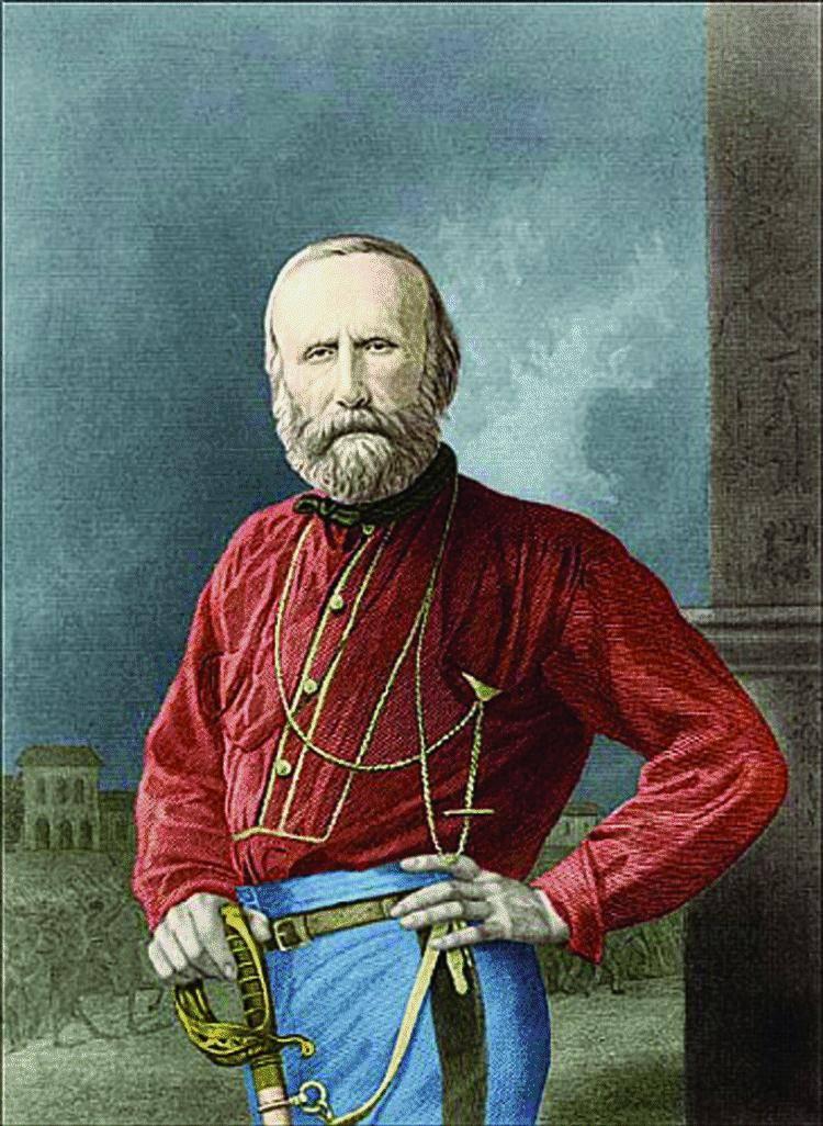 Il centrodestra e l'idea di patria di Garibaldi