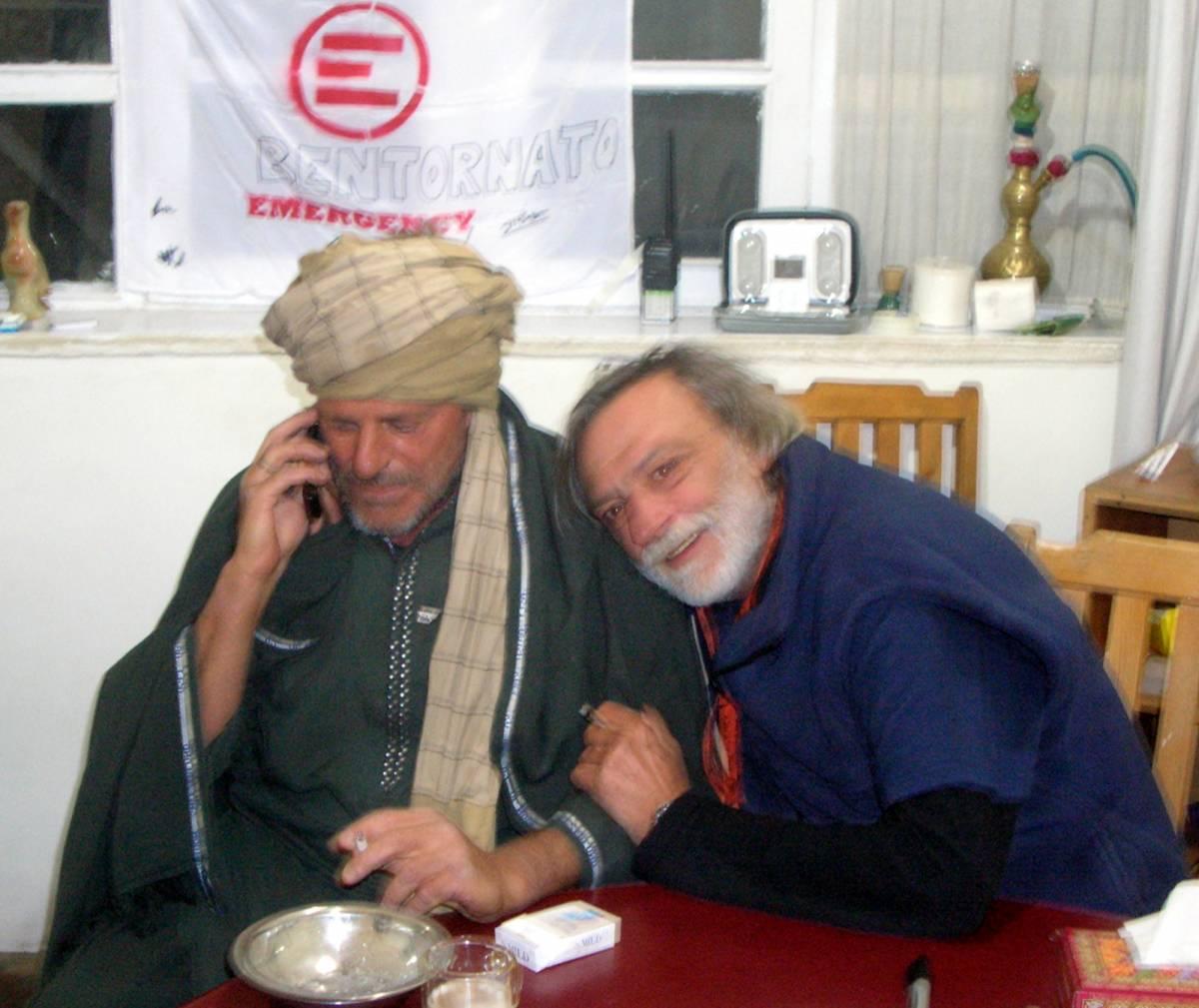 Libero Mastrogiacomo, liberi 5 talebani