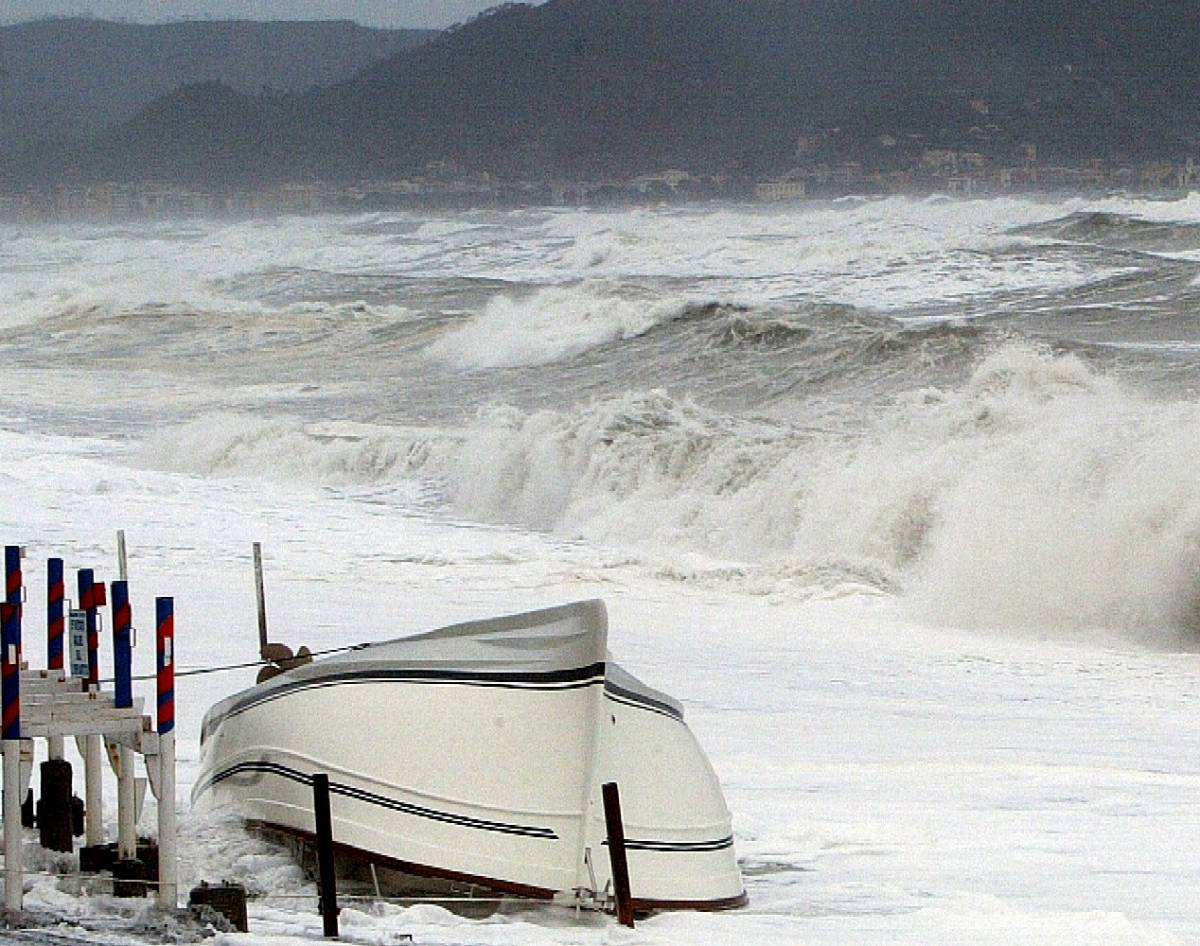 Neve, pioggia e vento  Maltempo in tutta l'Italia