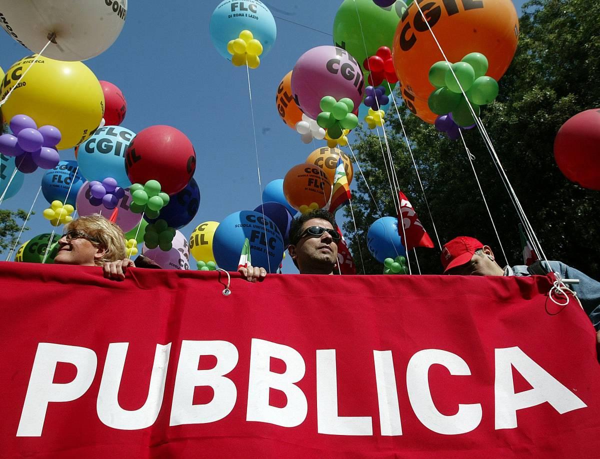 I  sindacati vogliono far scioperare gli statali
