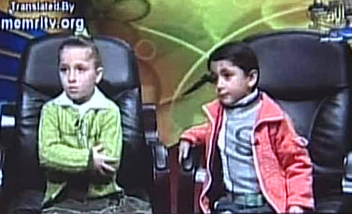 Israele, Hamas sbatte in tv  i figli di una kamikaze